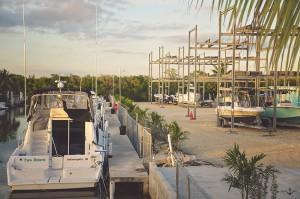 Ocean Blue Marina Docks