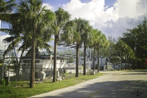 Ocean Blue Boatworks Entrance
